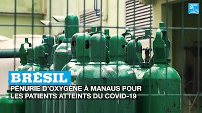 à Manaus, l'oxygène, nerf de la guerre contre le Covid-19