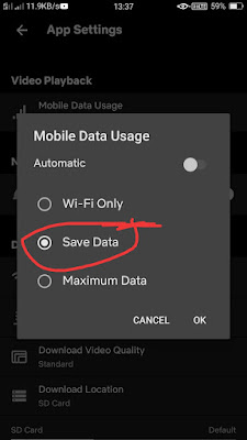 How To Save Mobile Data In Netflix नेटफ्लिक्स में मोबाइल डेटा कैसे बचाएं? how to reduce netflix data usage, नेटफ्लिक्स डेटा उपयोग की खपत को कैसे कम करें?