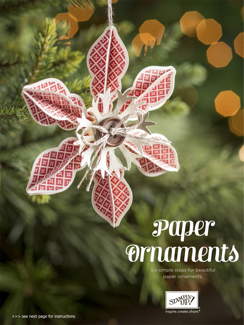 Maria's Stamping Station: Stampin' Up Paper Christmas ...