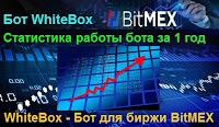 WhiteBox бот - статистика работы бота за 1 год и 2 месяца