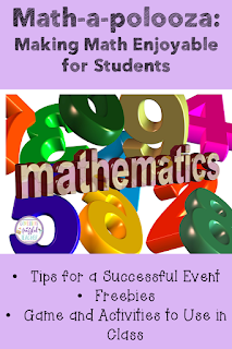 The end of the school year is exhausting! Spice it up with a Math-a-polooza event! This activity encourages your students to love math! There are low prep/no prep suggestions of ways to get students to complete math activities throughout the day. There are many fun games and other activities that will foster student engagement. There is also a FREEBIE included. #confessionsofafrazzledteacher #math #mathteachers {Elementary Students, Kindergarten, First, Second, Third, and Fourth Grades}