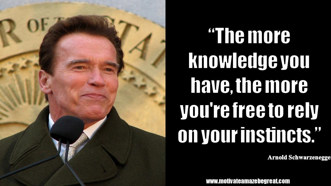 Beautiful 20 Arnold Schwarzenegger Inspirational Quotes For Motivation
