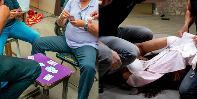 Мужчина проиграл жену в покер и позволил своим родственникам ее изнасиловать (фото)