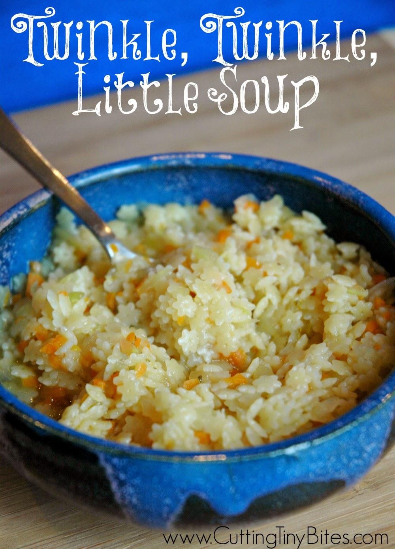 Twinkle Twinkle Little Soup; Easy Noodle Soup for Kids