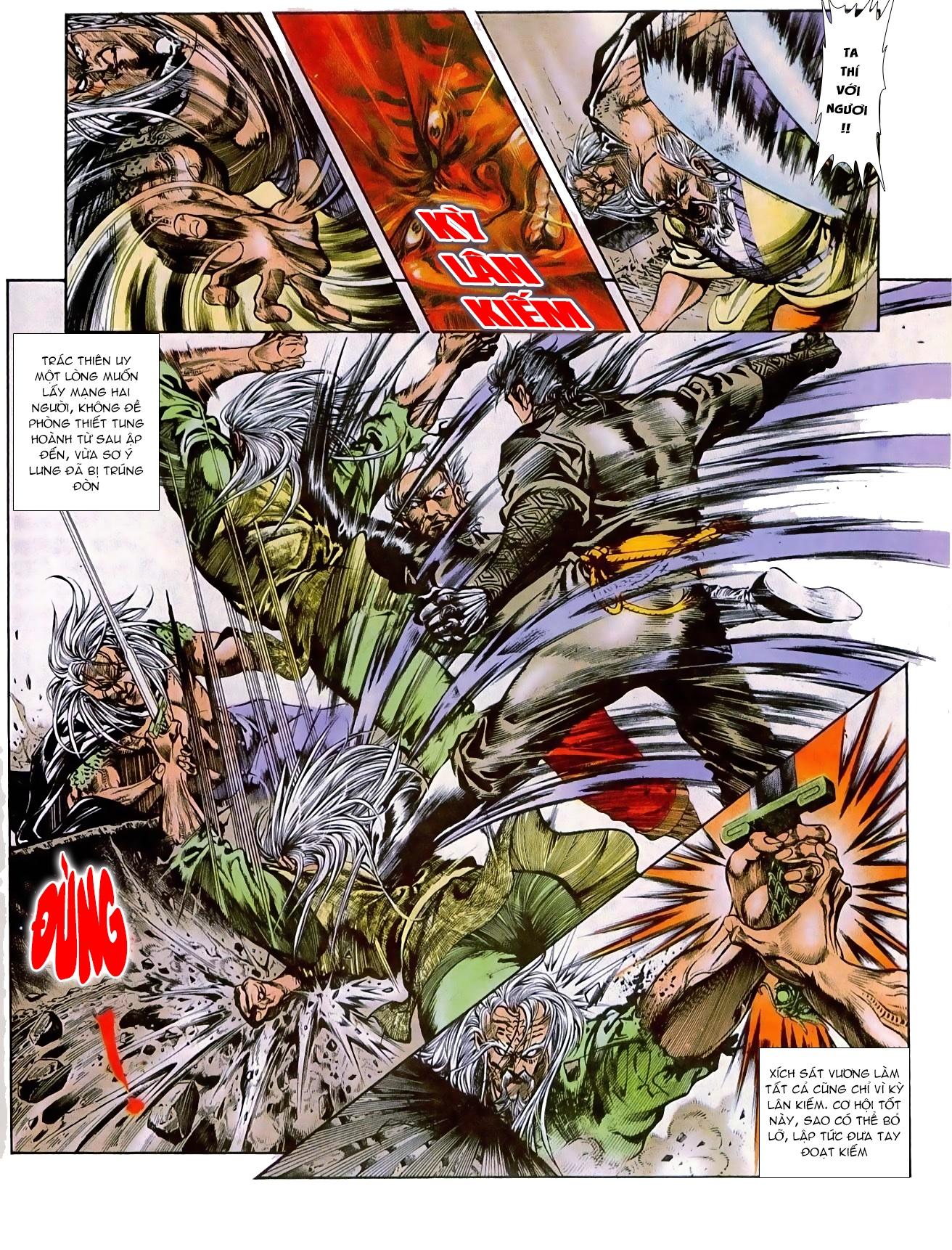 Thiết Tướng Tung Hoành chap 270 - Trang 17