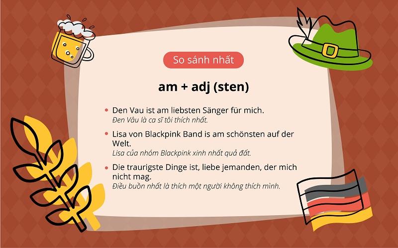 Tính từ trong Tiếng Đức