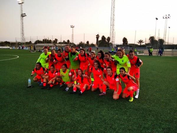 El Málaga Femenino consigue su tercera victoria en Liga (0-4)