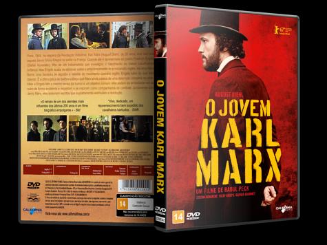 Capa DVD O Jovem Karl Marx [Custom]