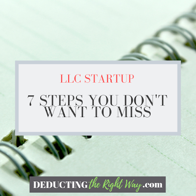 Setting Up An LLC | www.deductingtherightway.com