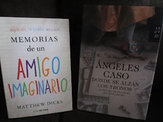 Libros Memorias de un amigo imaginario y Donde se alzan los tronos
