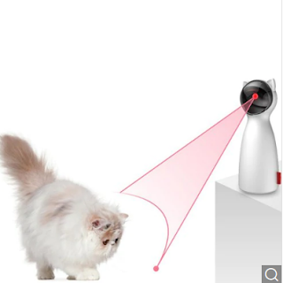 BENTOPAL P01 Laser Cat Teasing Devices - White