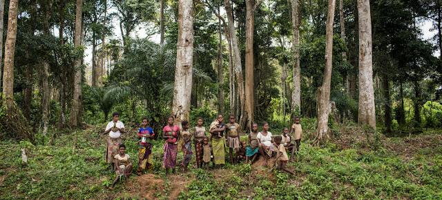 Comunidad indígena de los bosques en la República Democrática del Congo UNICEF/Vincent Tremeau