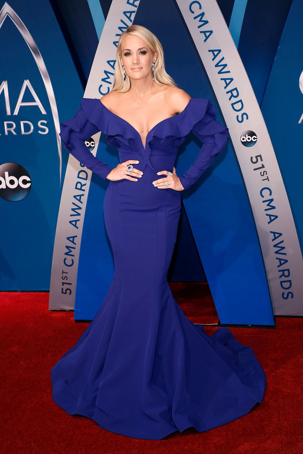 Carrie Underwood in Fouad Sarkis