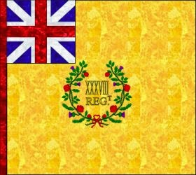 38th Regiment of Foot Regimental Colour