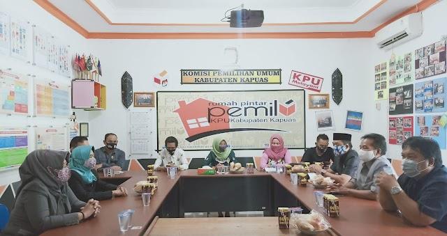 Pastikan Kesiapan, Komisi I DPRD Sambangi KPU dan Bawaslu Kapuas