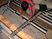 flat weave rugs and carpets in the rug factory