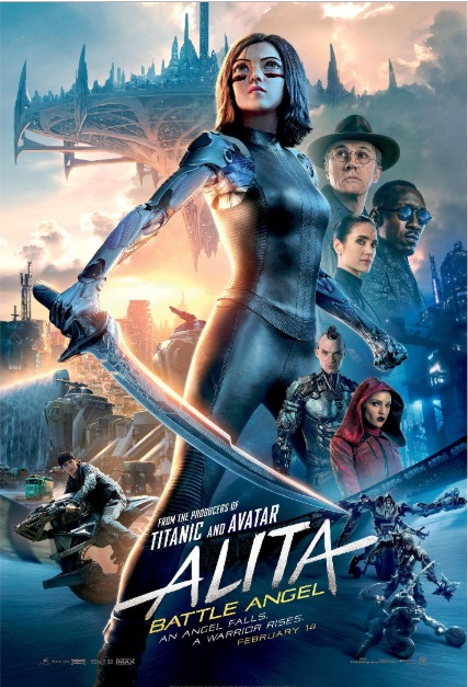Alita Battle Angel 2019 Full Movie Download In HD DvDRip