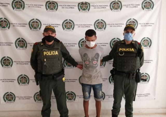 hoyennoticia.com, Se robó una moto y lo cogieron en el Nueva Guajira de Riohacha