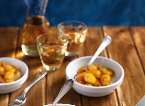 Maślane i chrupiące pieczone ziemniaczki