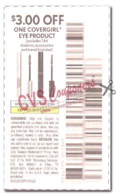 covergirl coupon save $3.00