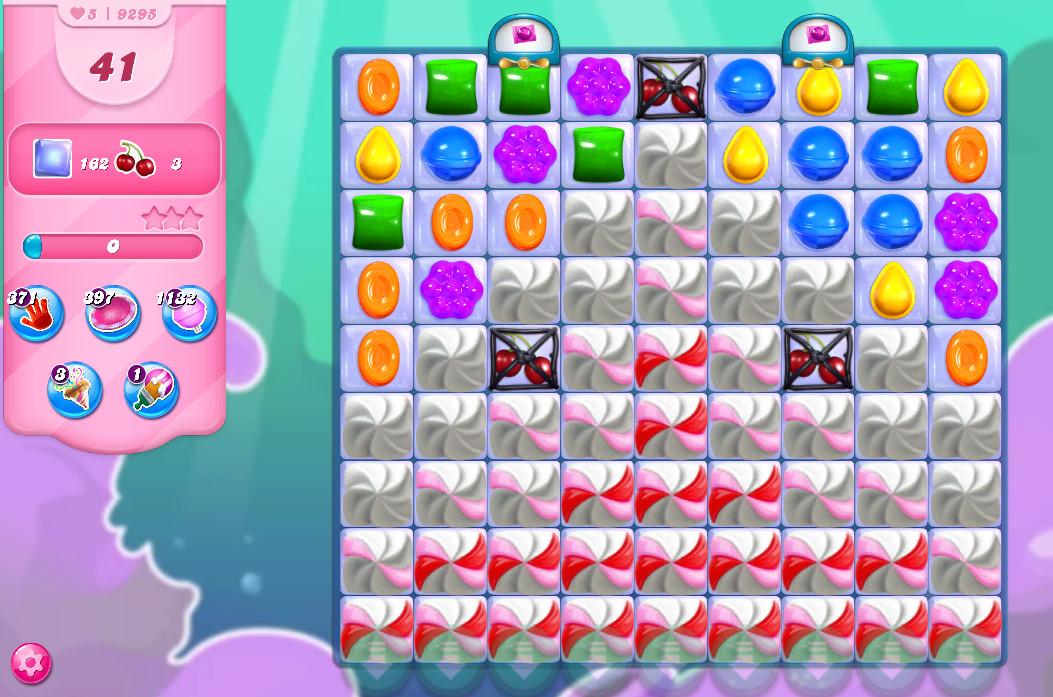 Candy Crush Saga level 9295