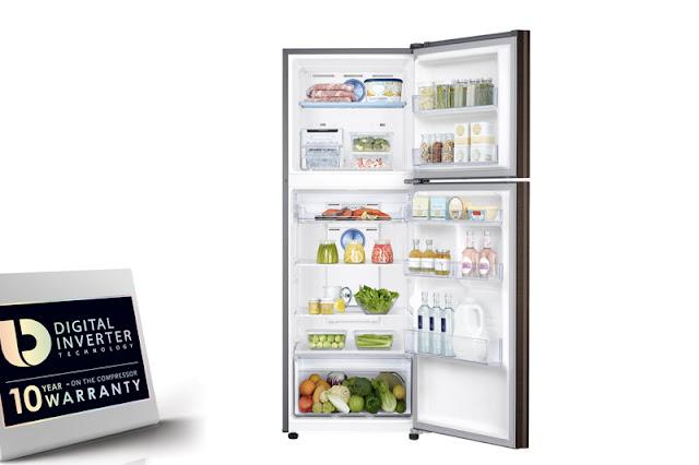 Tủ lạnh Samsung Inverter 319 lít RT32K5930DX/SV