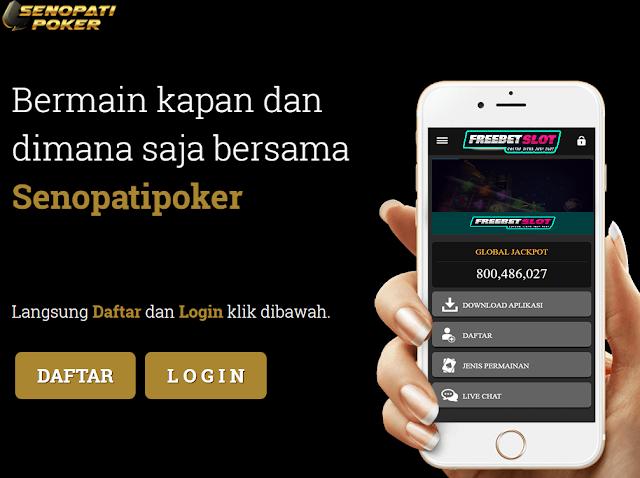 Senopatipoker Link Alternatif Poker Online