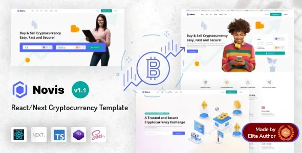 Best React Next.js Cryptocurrency Template