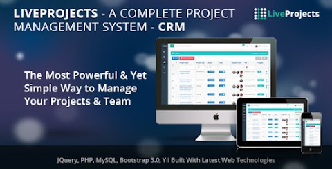 LiveProjects - Complete Project Management CRM