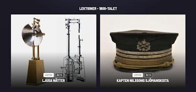 Skärmbild från Sveriges historia.