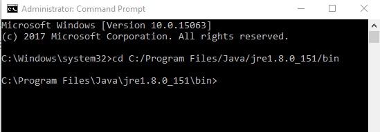 Menentukan Path pada Java