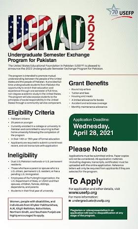 Global UGRAD One Semester Exchange Program USA 2022
