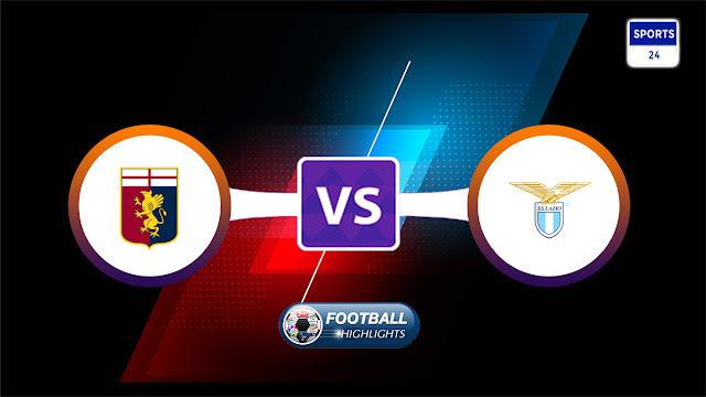 Genoa vs Lazio – Highlights