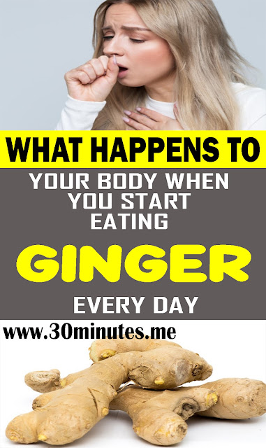 What Happens To Your Body When You Start Eating Ginger Every Day