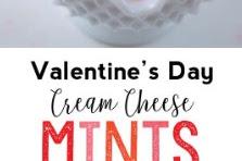 Valentine's Day Cream Cheese Mints Recipe