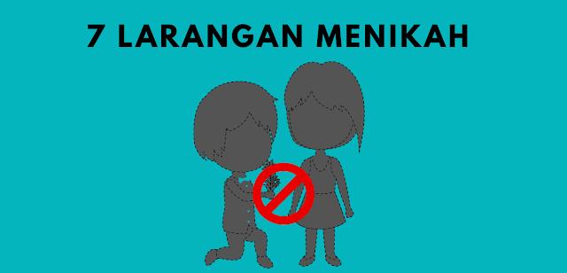 7 Jenis Pernikahan Yang Dilarang Agama