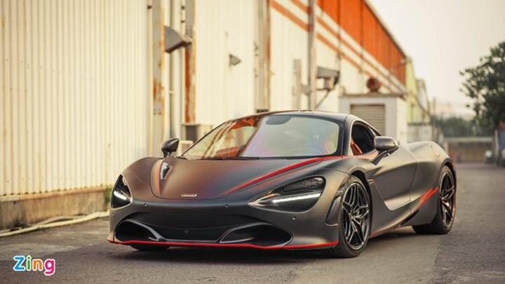 Hàng loạt siêu xe McLaren có khả năng bốc cháy