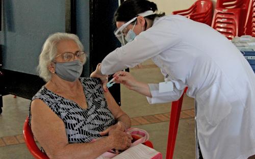 Nesta Terça (16) Toledo vai apenas aplicar a segunda dose da vacina