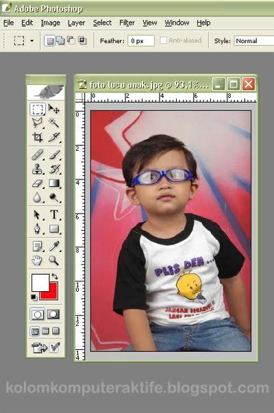 Cara Mengganti Baground Foto Di Photoshop : mengganti, baground, photoshop, Kolom, Komputer, Aktif:, Mengganti, Background, Photoshop
