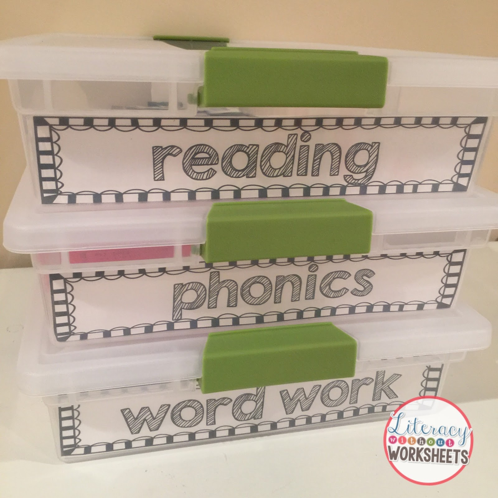 Differentiating Literacy Work Stations