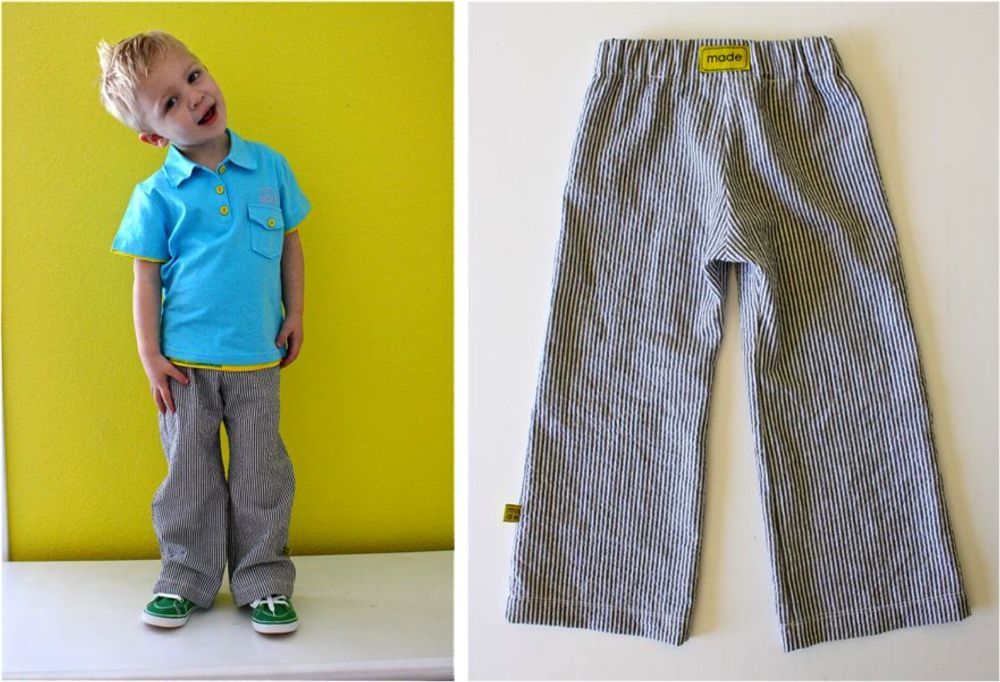 6 to 36 Mths Simplicity Pack of 3 Toddler Boys Pants in Multicolors