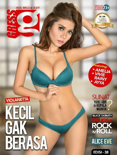 Download gratis Majalah GRESS Magazine ED. 38 - Mei 2016 Amelia, Vivie Rainy, Violanetta, Ayya - www.insight-zone.com