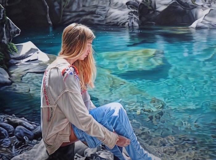 Новозеландский художник. Isaac Petersen