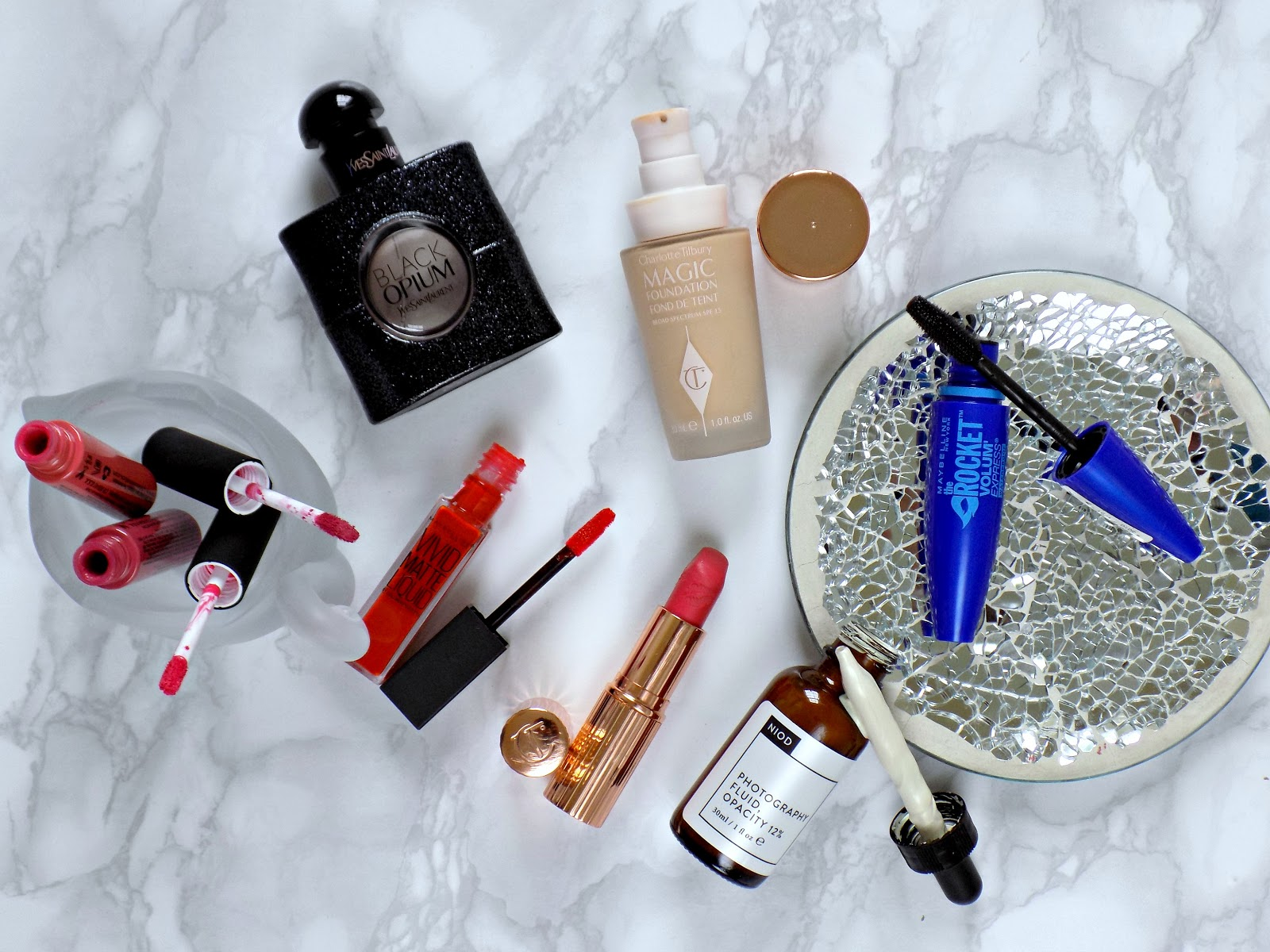 Disappointing products , Charlotte Tilbury Magic Founadtion, NIOD Photograhy Fluid and more