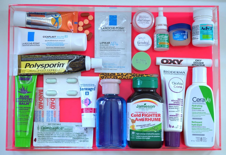 Travel First Aid Kit DIY