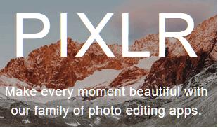 edit foto pixlr