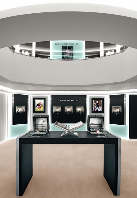 Richard Mille's London Boutique in Old Bond Street