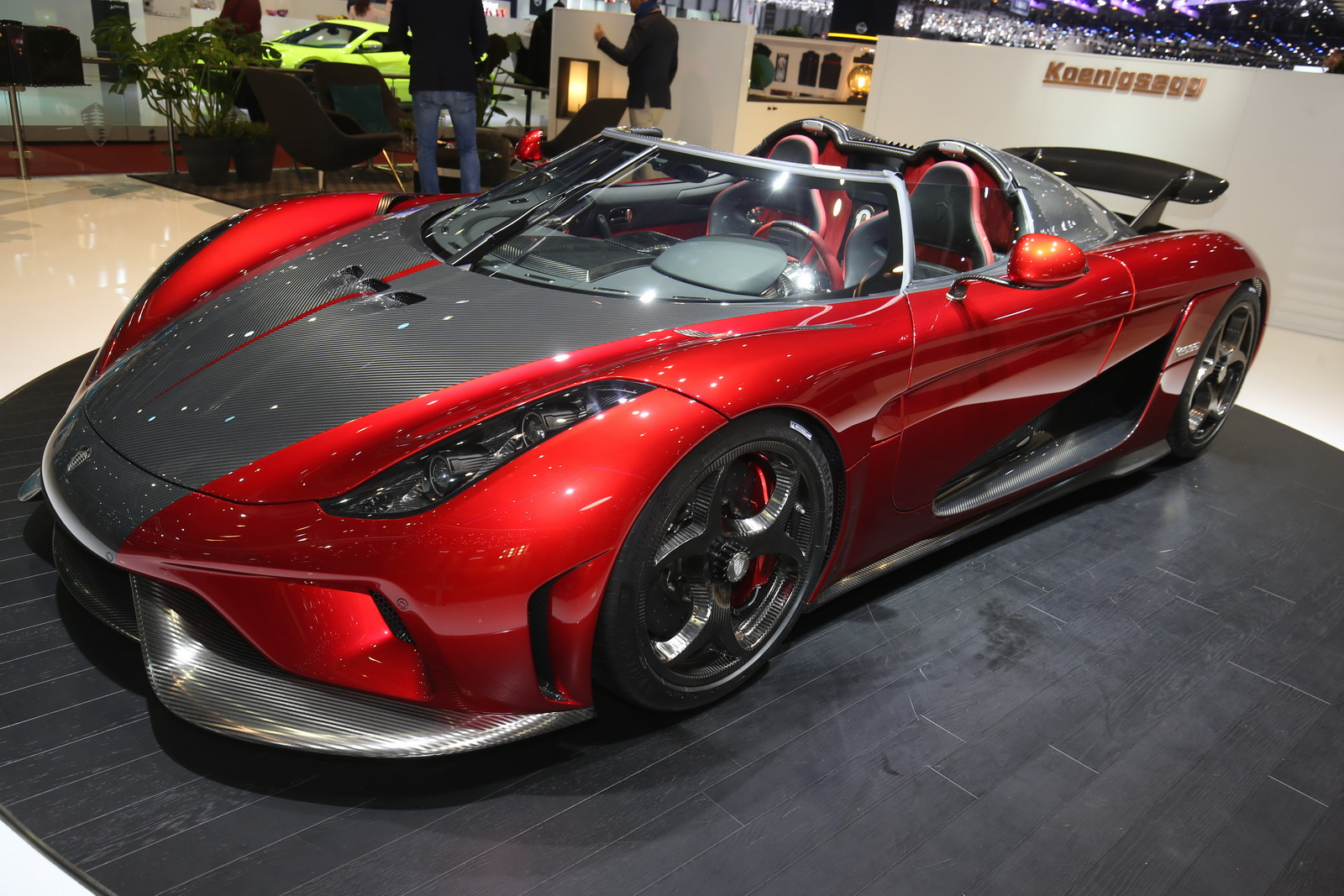 Koenigsegg S First Customer Regeras Look Absolutely Mega
