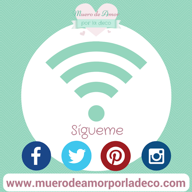 Blog de decoración: Muero de Amor por la Deco en las Redes Sociales.
