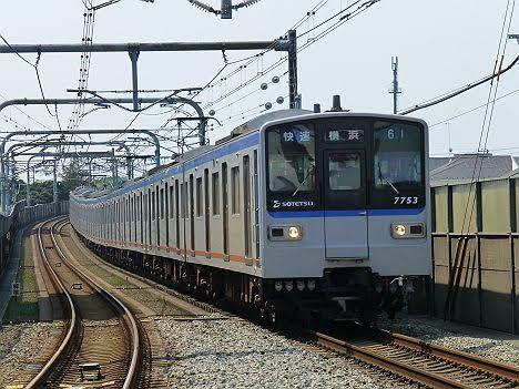 【来週 引退へ!】相模鉄道 快速 横浜行き2 新7000系
